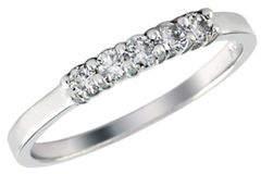 Effy 14K White Gold Diamond Wedding Band