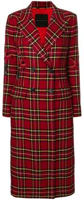 Ermanno Scervino double breasted long coat