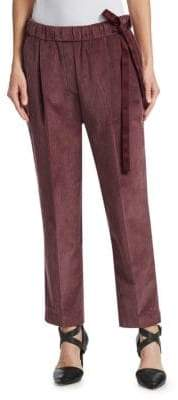 Brunello Cucinelli Velvet Corduroy Pants