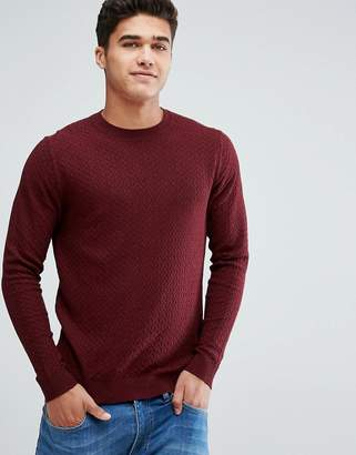 Jack and Jones Crew Neck Knit