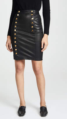 Marissa Webb Nell Stretch Leather Skirt