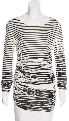 Elizabeth and James Striped Long Sleeve T-Shirt