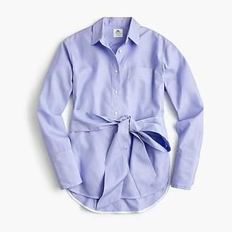 J.Crew Thomas Mason® for tie-waist button-up