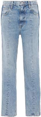 TRE by Natalie Ratabesi 'Billie' stripe outseam jeans
