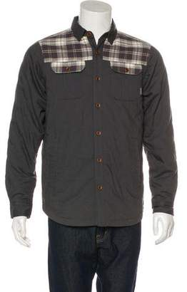 Columbia Puffer Button-Up Jacket