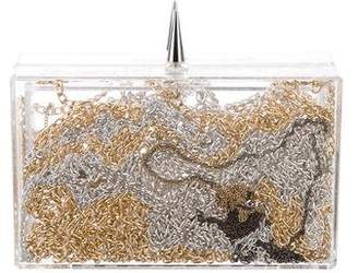 ashlyn'd Acrylic Chain Clutch