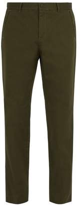 A.P.C. Terry Cotton Chino Trousers - Mens - Green