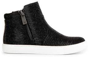 Kenneth Cole New York Kiera Leather Sneaker Boots