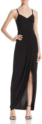 Laundry by Shelli Segal Faux Wrap Gown $195 thestylecure.com