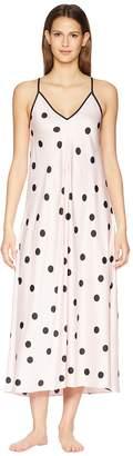 Kate Spade Dot Satin Gown Women's Pajama