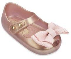 Mini Melissa Baby's Mary Jane Peep Toe Flats $55 thestylecure.com