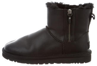 UGG Australia Double Zip Ankle Boots $125 thestylecure.com