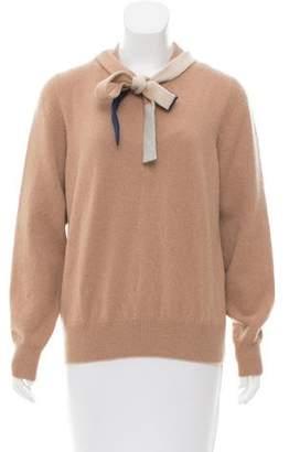 Victoria Beckham Wool Crew Neck Sweater