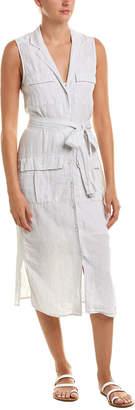 James Perse Pocket Linen Shirtdress