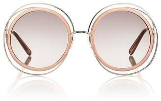 Chloé Women's Carlina Sunglasses $396 thestylecure.com