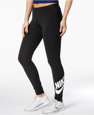 Nike Leg-A-See Logo Leggings $45 thestylecure.com