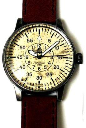 Aeromatic1912 Aeromatic 1912 Aged PatinaダイヤルAviator 's Watch a1152 N