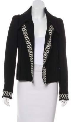 Chanel Wool Open-Front Jacket