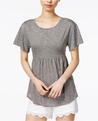 Maison Jules Peplum Top, Only at Macy's $44.50 thestylecure.com