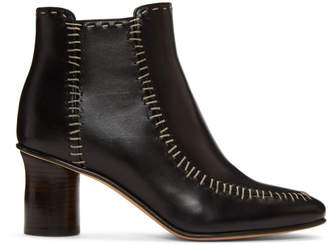 J.W.Anderson Black Stitch Boots