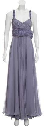 J. Mendel Silk Evening Dress