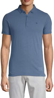 Scotch & Soda Men's Short-Sleeve Cotton Polo