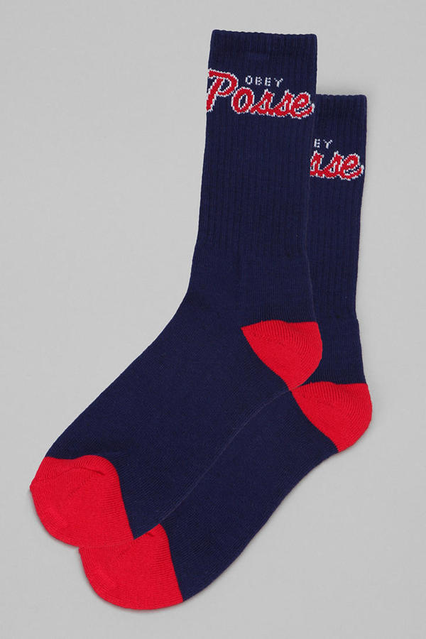 Urban Outfitters OBEY Posse Sock