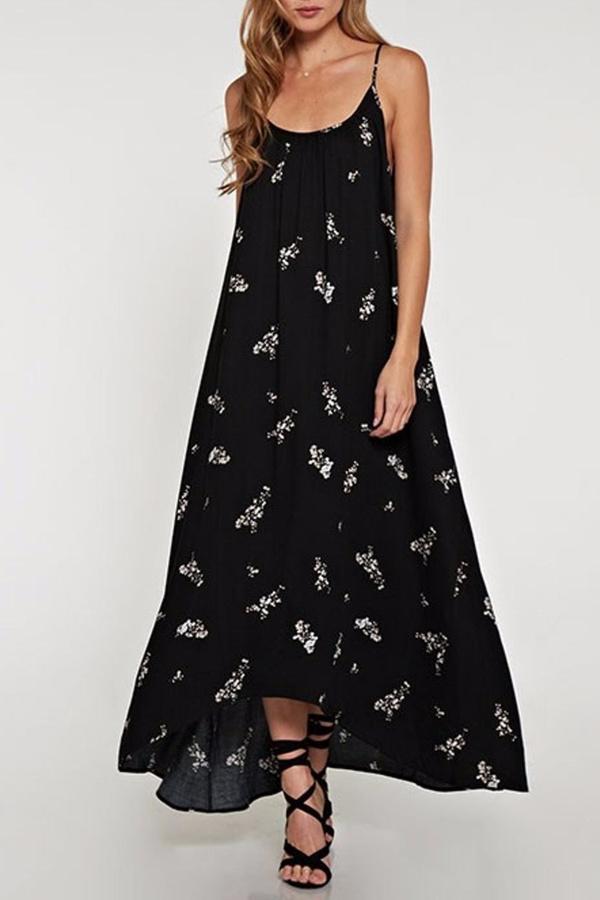 Love Stitch Lovestitch Floral Maxi Dress