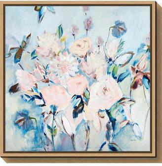 Amanti Art Sweetness and Light II v2 Floral by Joan E. Davis Canvas Framed Art
