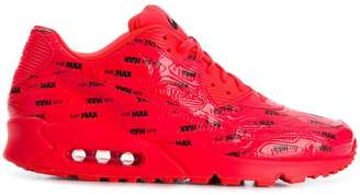 Nike varnished sneakers