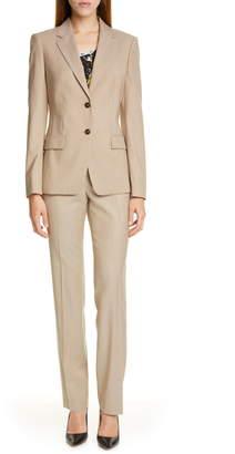 BOSS Jasuala Wool Suit Jacket