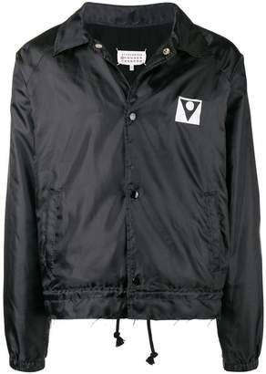 Maison Margiela logo print jacket