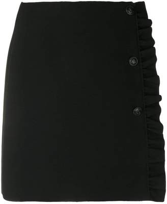 MSGM frill-trim mini skirt