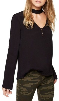 Women's Sanctuary Raven Choker Top $79 thestylecure.com