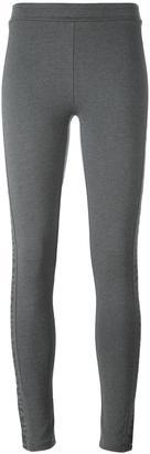 Calvin Klein Jeans logo print leggings $89.05 thestylecure.com