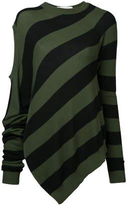 A.F.Vandevorst striped knitted top