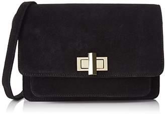 Petite Mendigote Rimbaud, Women's Cross-Body Bag, Noir (), (W x H L)
