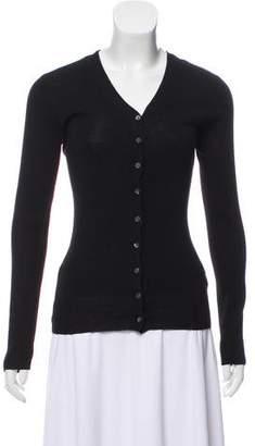 DKNY Wool Knit Cardigan
