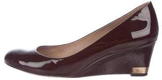 Tory Burch Astoria Patent Leather Wedges