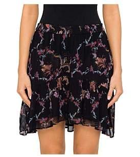 IRO Lilie Printed Mini Skirt
