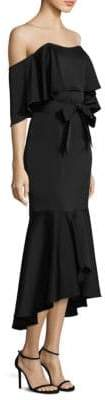 Shoshanna Clarity Off-The-Shoulder Dress