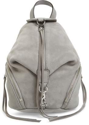 Rebecca Minkoff Mini Julian Nubuck Leather Convertible Backpack