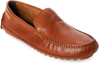 Cole Haan British Tan Coburn Venetian Driving Loafers