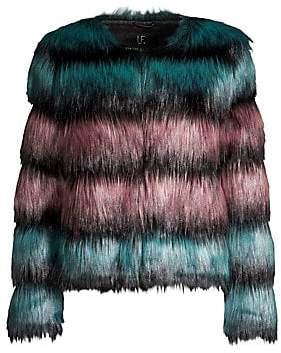 Unreal Fur Women's The Elements Faux Fur Jacket