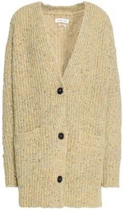 Etoile Isabel Marant Marled Ribbed-Knit Cardigan