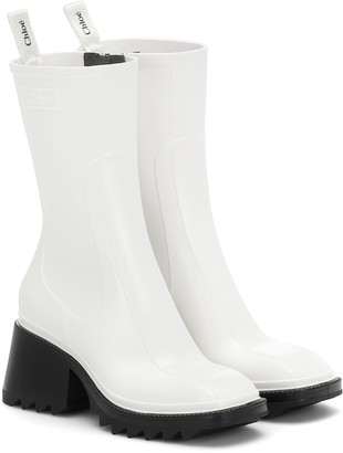 Chloé Betty 50 PVC ankle boots