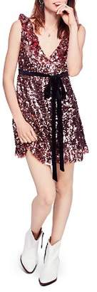 Free People Siren Sequined Mini Dress