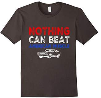 Nothing Can Beat American Muscle Classic Fast Cars T-Shirt