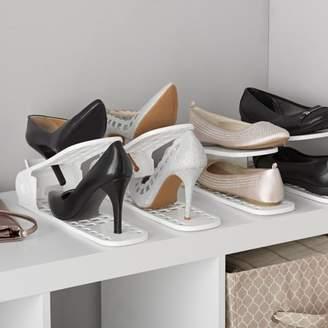 Shoe Pal Shoe Organizer 4 pack White