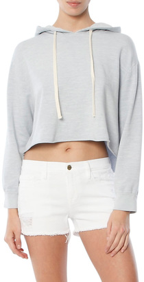 Monrow Oversized Cropped Hoody